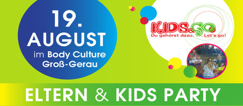 eltern kids party body culture