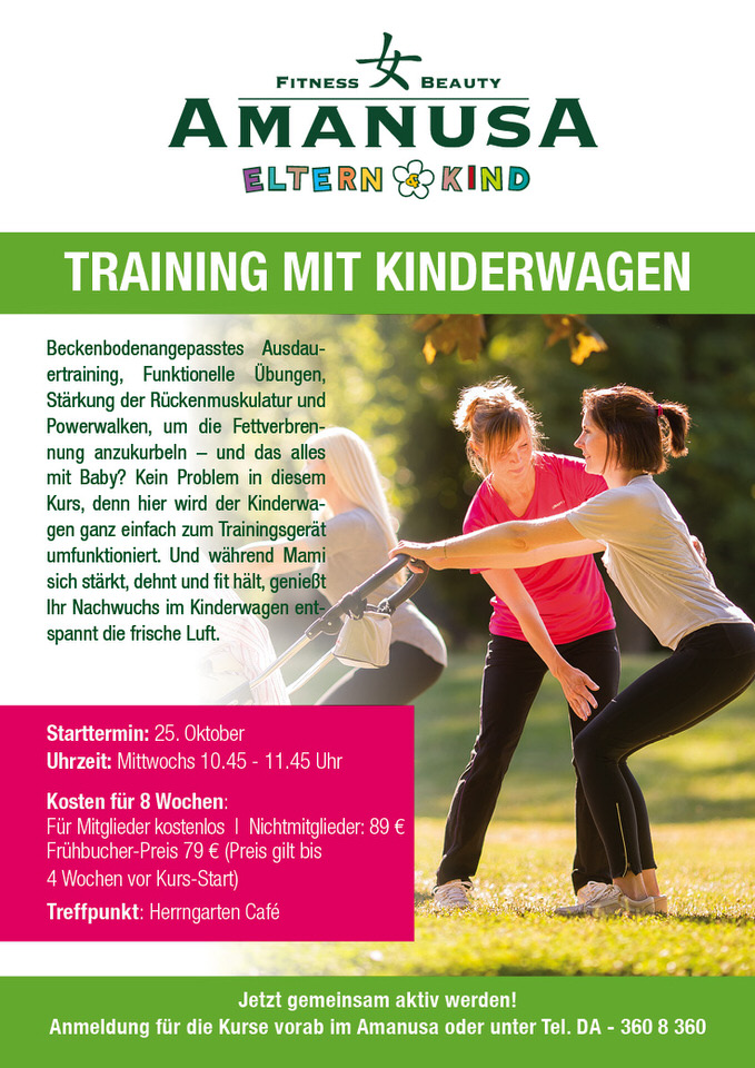 training kinderwagen