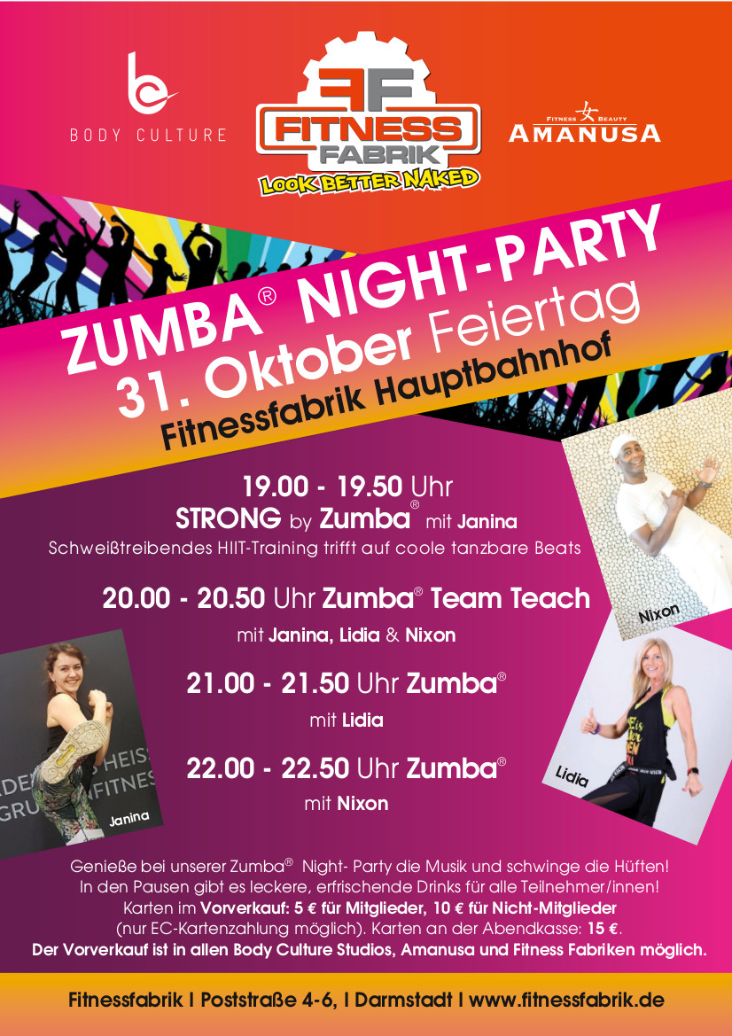 zumba night party