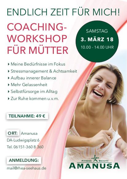 coaching workshop für mütter