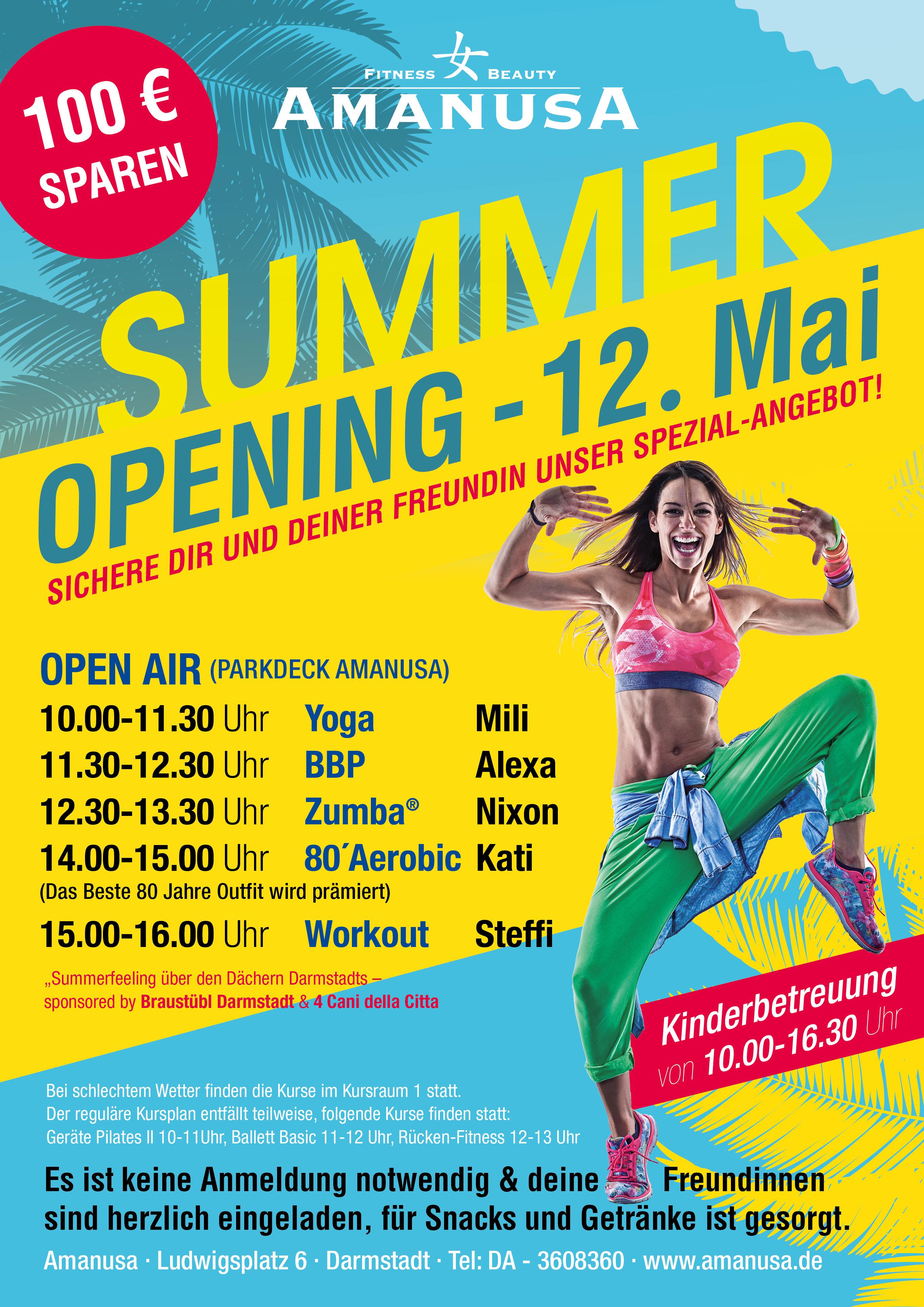 summer opening amanusa darmstadt