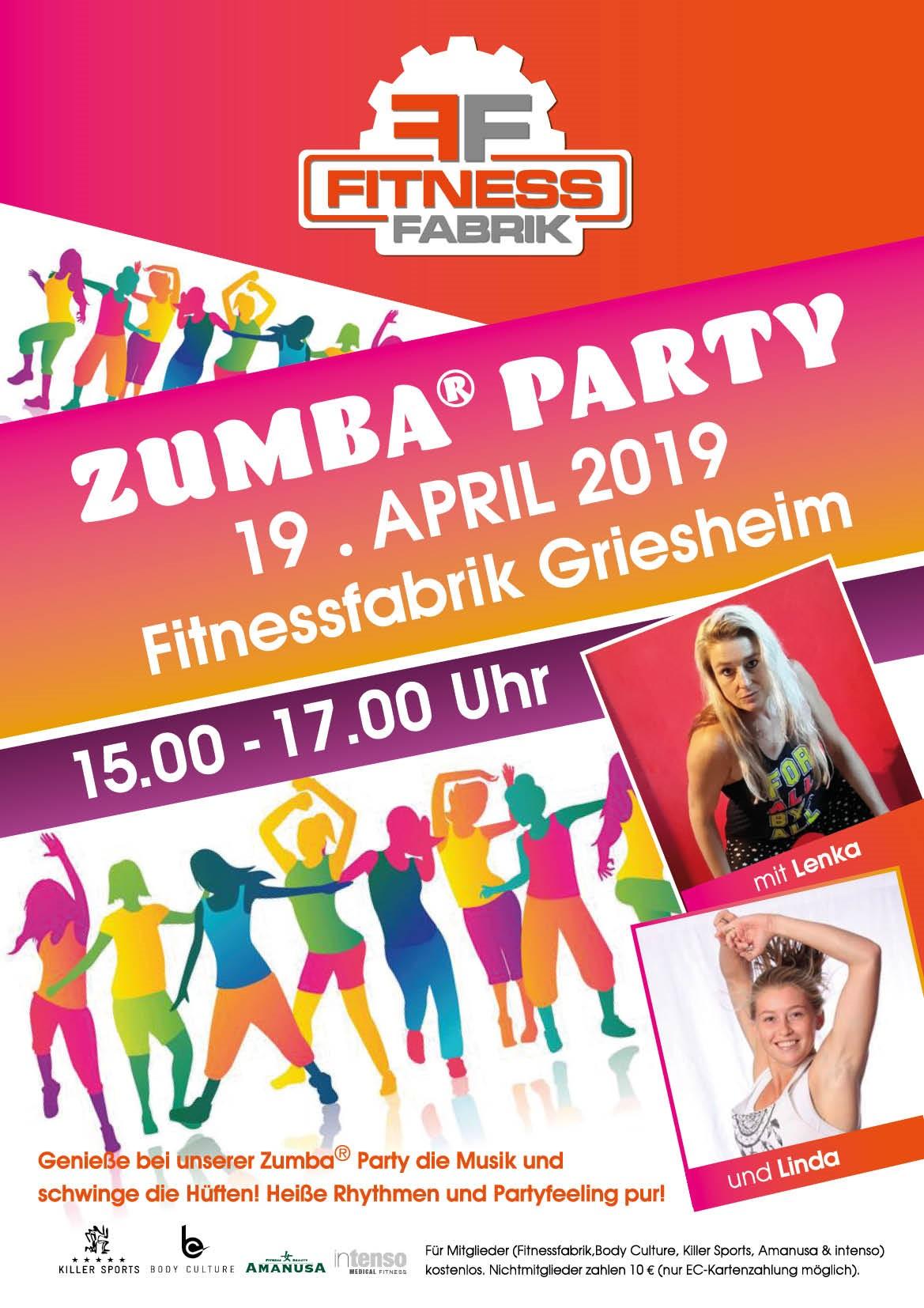 Zumba Party Darmstadt