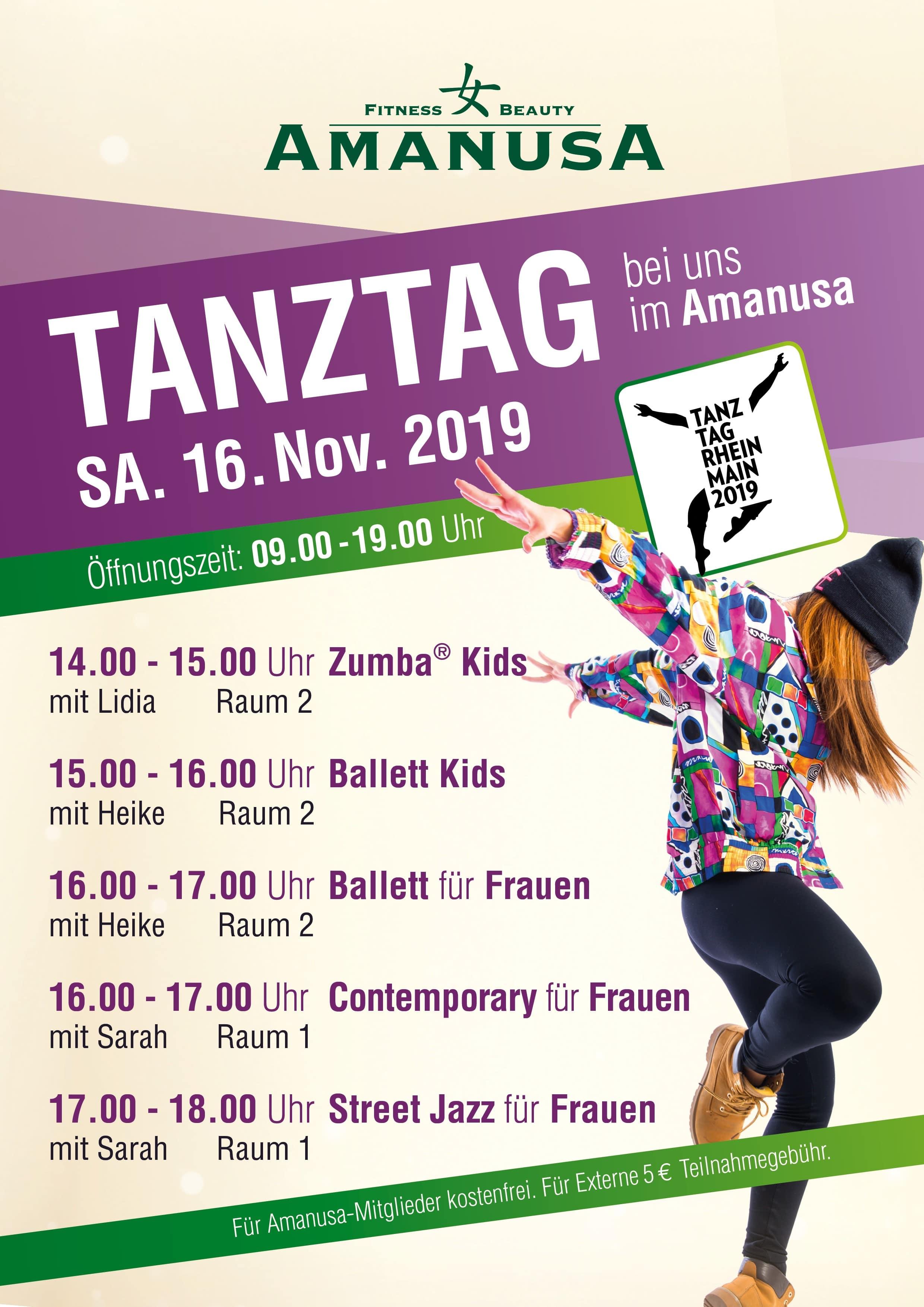 Tanztag 2019 im Amanusa