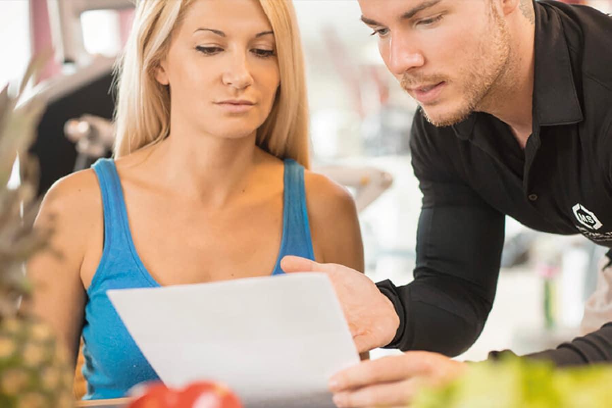 Ernährungsberatung Mann und Frau