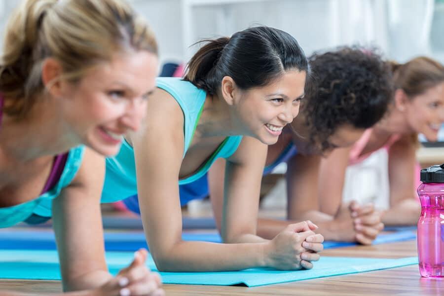 Frauenkurs für die fitte Körpermitte in Darmstadt Amanusa