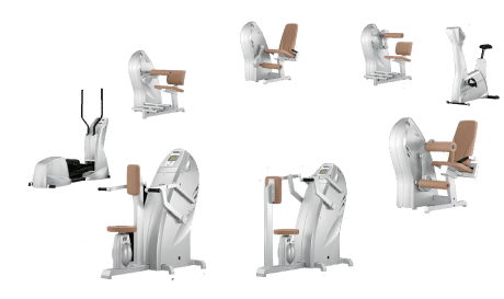 Milonzirkel Geräte auf einen Blick im Amanusa Darmstadt