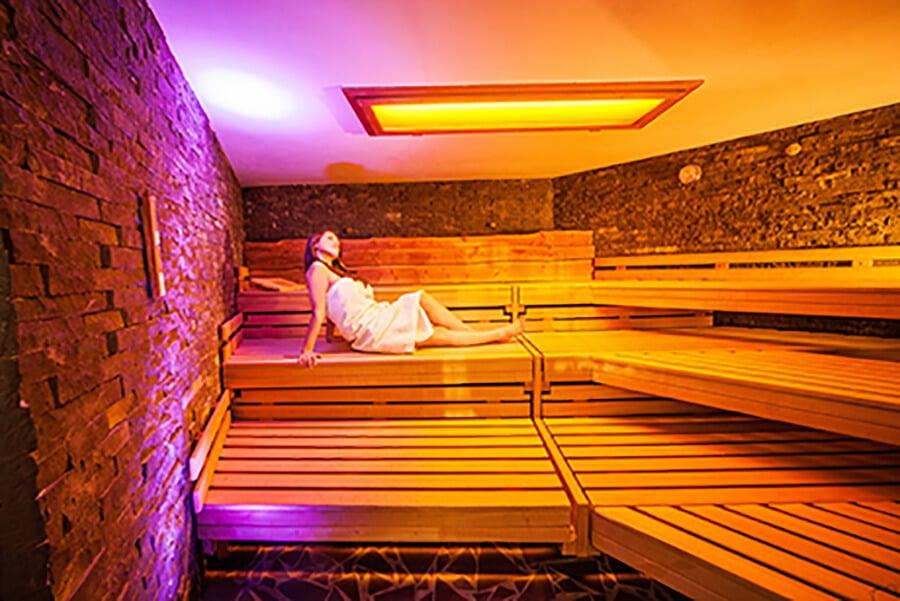 Sauna und Wellness im Amanusa