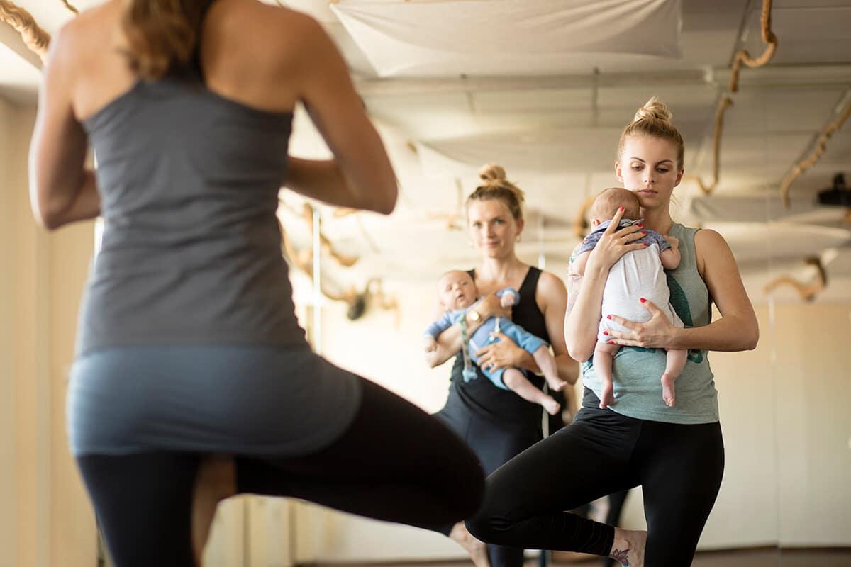 Mutter Kind Kurse Amanusa Fitnessstudio Darmstadt