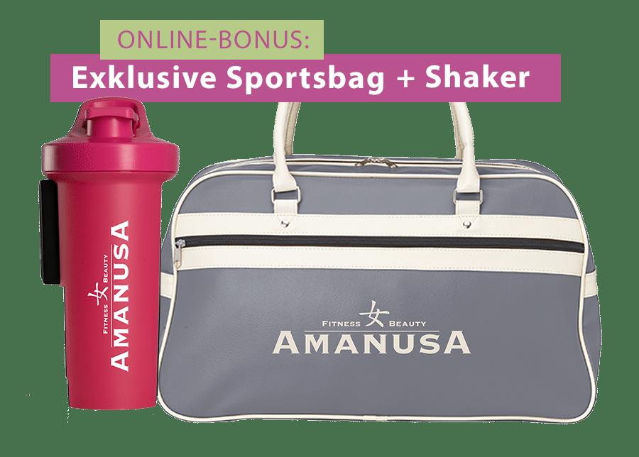 Shaker und Sportsbag Amanusa Darmstadt
