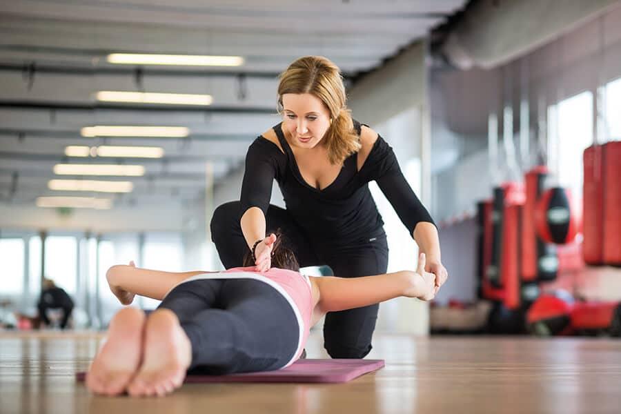 Präventionstraining für Frauen im Amanusa Darmstadt mit Trainerin