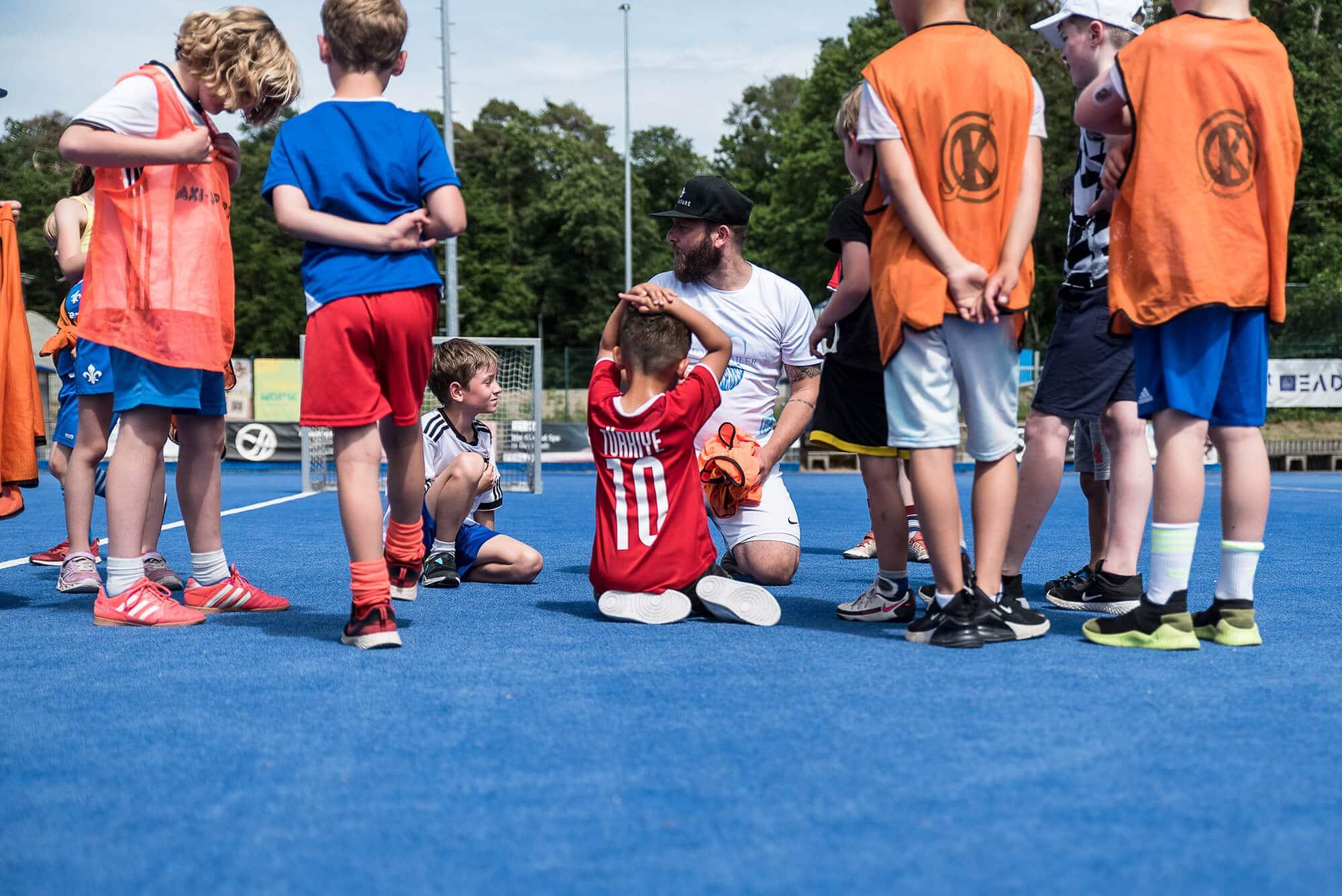 Kindersportkurs mit Toni Sailer im Amanusa Darmstadt
